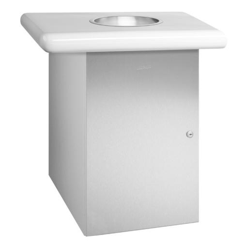 Wagner EWAR Papiermüllbehälter für Einwurfring, -klappe, -rahmen