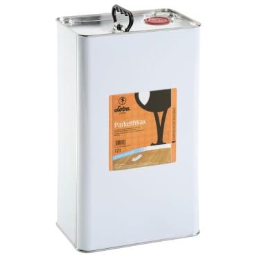 LOBA LOBACARE® ParkettWax Pflegewachs 12 l - Kanister, transparent