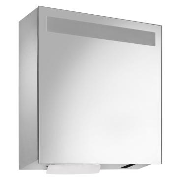 Wagner EWAR Spiegelschrank mit Handtuch- und Sensorseifenspender