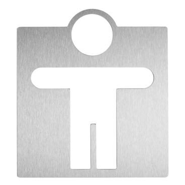 Wagner EWAR Toilettentürschild, Mann