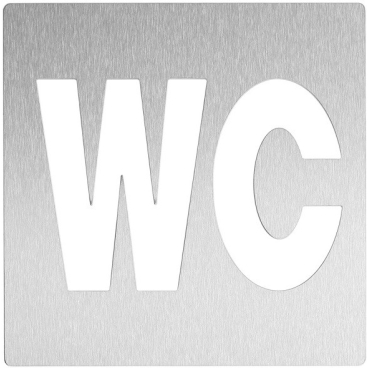Wagner EWAR Toilettentürschild, WC