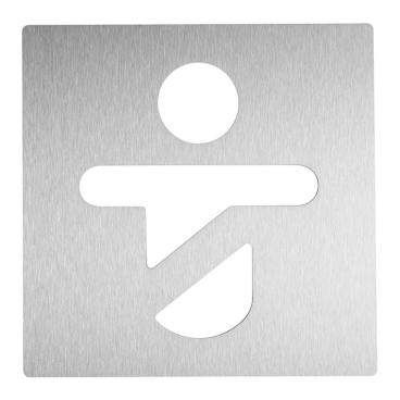 Wagner EWAR Toilettentürschild, Kind