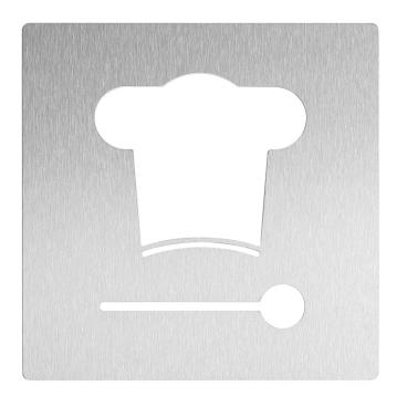 Wagner EWAR Hinweisschild, Küche