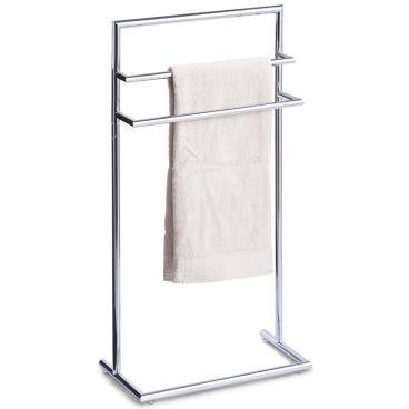 Zeller Metall Handtuchständer, verchromt