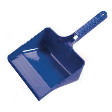Haug Kehrschaufel aus Polypropylen Farbe: blau