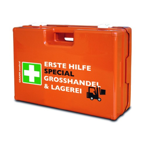 GRAMM medical Verbandkoffer SPECIAL Großhandel & Lagerei