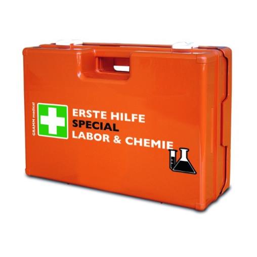GRAMM medical Verbandkoffer SPECIAL Labor & Chemie