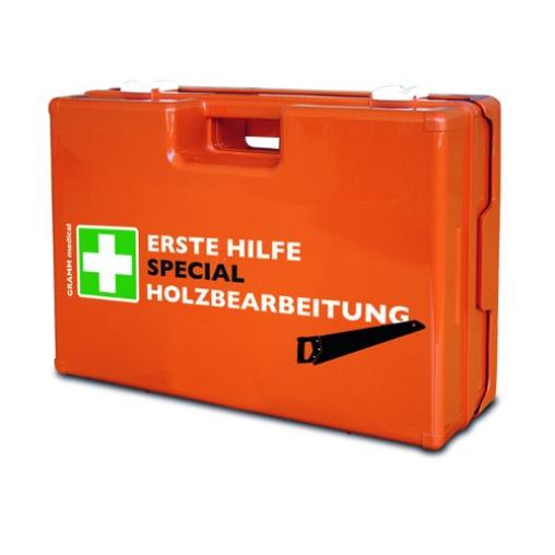 GRAMM medical Verbandkoffer SPECIAL Holzbearbeitung