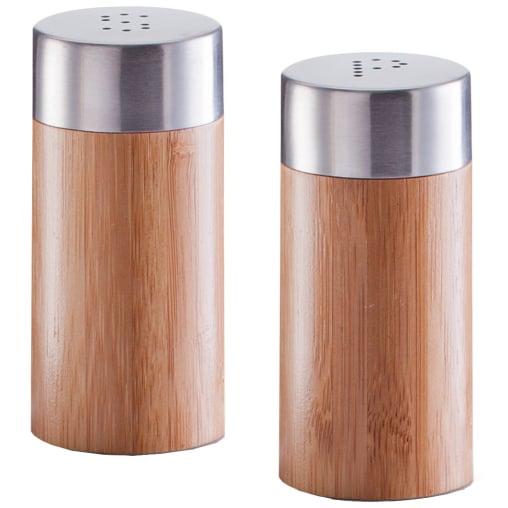 Zeller Salz- / Pfefferstreuer-Set Bamboo