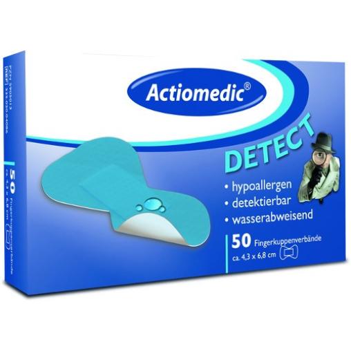 Actiomedic® DETECT Fingerkuppenverbände
