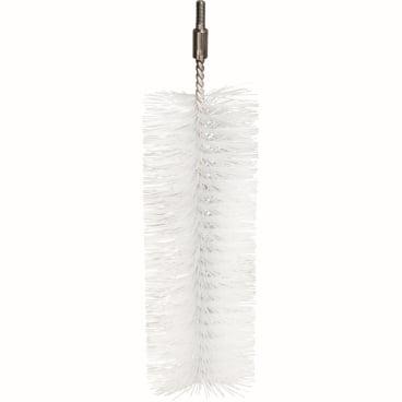 Haug Rohrbürste aus Edelstahldraht verlängerbar Länge: 21,5 cm, Ø 6 cm,  PBT-Borste, Ø 0,40 mm