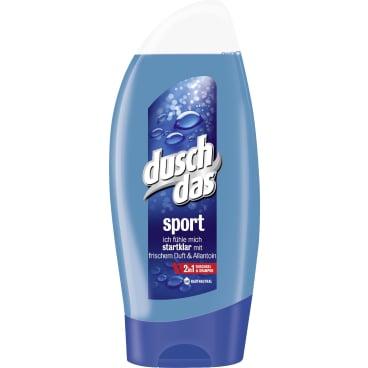 duschdas Duschgel und Shampoo Sport