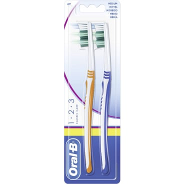 Oral-B 1,2,3 Classic Care Zahnbürste