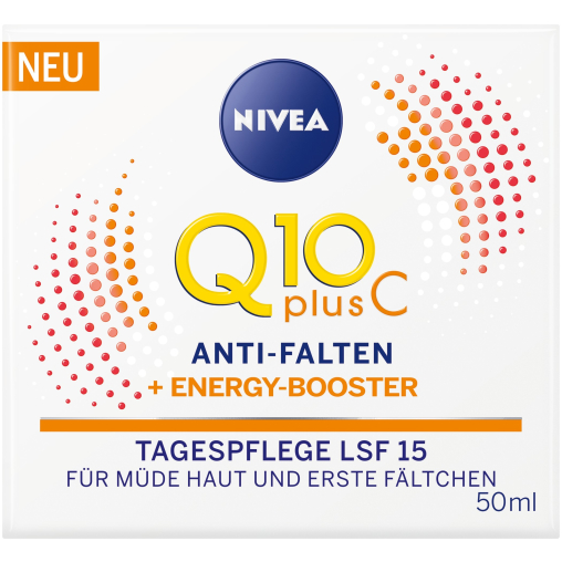 NIVEA Face Q10 Plus Anti-Falten Energy Tagespflege LSF15