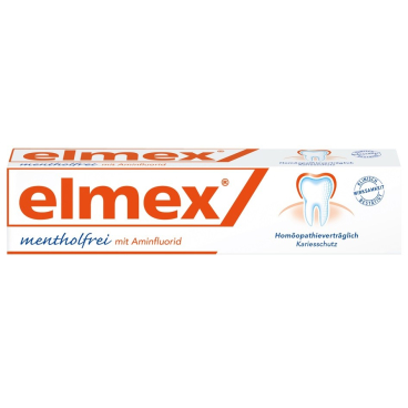 elmex Mentholfrei Zahncreme