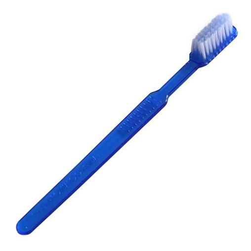 Einweg-Zahnbürste ohne Zahnpasta