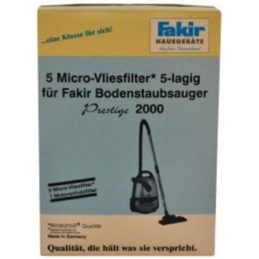 Staubsaugerbeutel Fakir Schlittensauger 2000