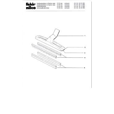 Nilco Combidüse RS 17, 30 cm 1 Stück