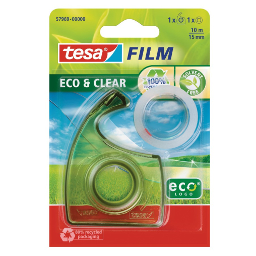tesafilm® Eco & Clear Kleber