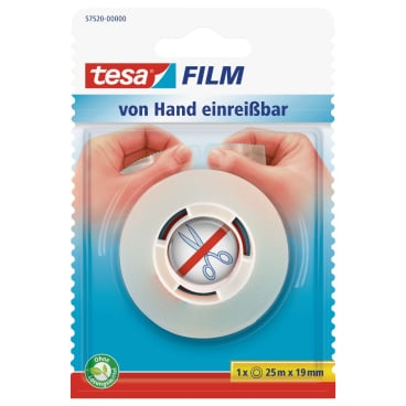 tesafilm® von Hand abreißbar
