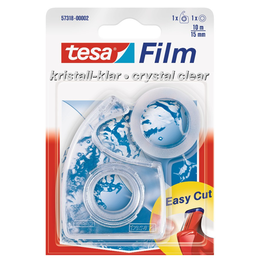 Tesa Mini Abroller Tesafilm Klebeband Kleben Kleber Abroller Verpacken Zukleben