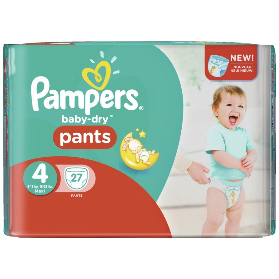 9fc154f369057c Pampers Baby Dry Pants Maxi Windeln 8-15 kg