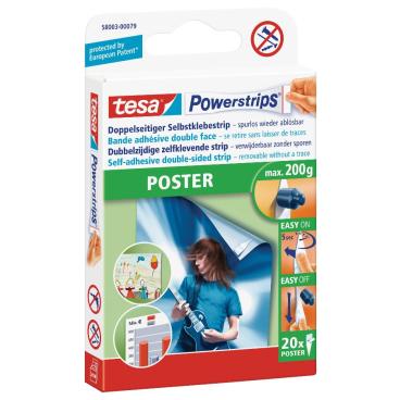 tesa Powerstrips® Poster Klebestreifen