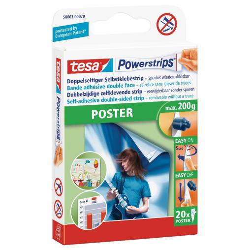 tesa Powerstrips® Poster