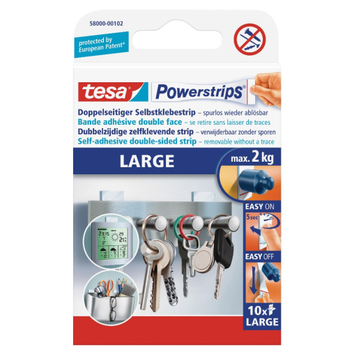 tesa Powerstrips® Large