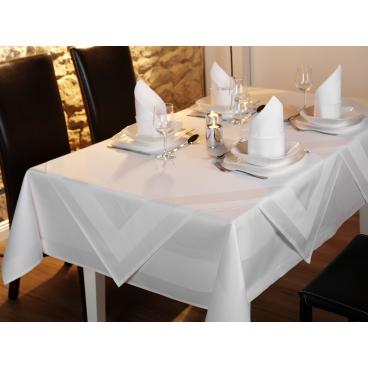 Papiertischdecke Tischwäsche Tischtuch pure 8 m x 118 cm weiß gefaltet
