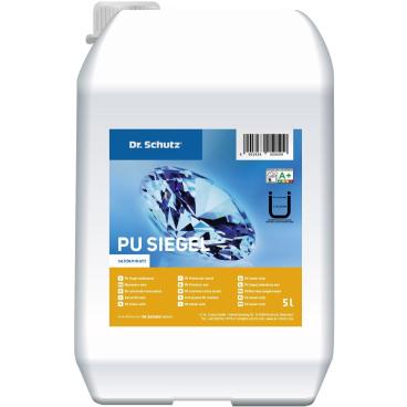 Dr. Schutz® PU Siegel Langzeitschutz, seidenmatt 1 Karton = 5 l - PU-Siegel und 500 ml - Vernetzer