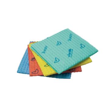Vileda Professional Breazy Kurzzeittuch, 35 x 35,5 cm 1 Packung = 25 Stück, blau