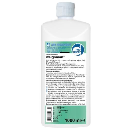Dr. Weigert neodisher® weigoman Händedesinfektion