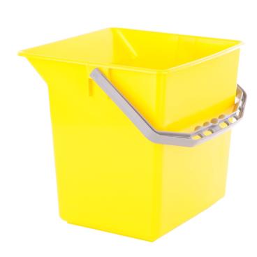 TTS Kunststoffeimer Farbe: gelb, 6 Liter