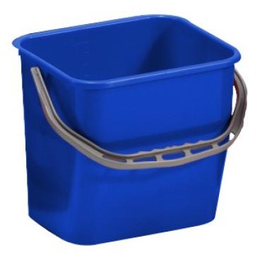 TTS Kunststoffeimer Farbe: blau, 12 Liter