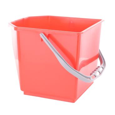 TTS Kunststoffeimer Farbe: rot, 15 Liter