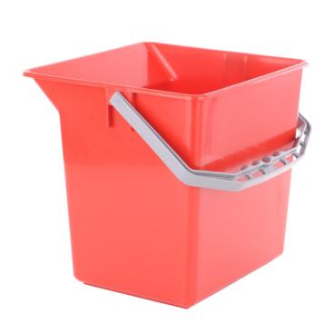 TTS Kunststoffeimer Farbe: rot, 6 Liter