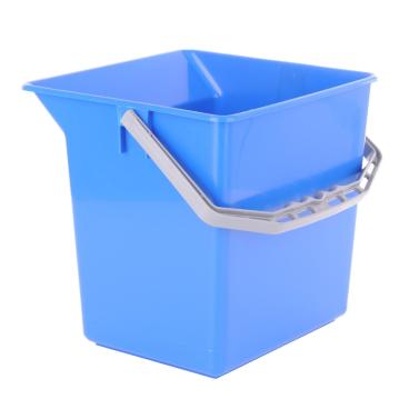 TTS Kunststoffeimer Farbe: blau, 6 Liter