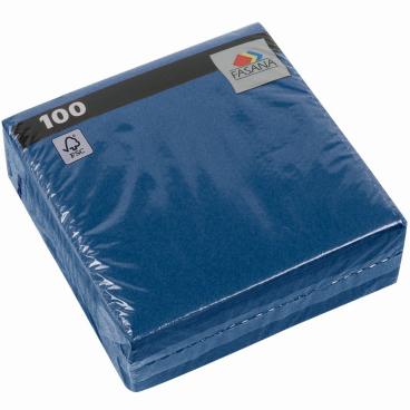 FASANA Prägeserviette, 33 x 33 cm, 1-lagig, 1/4 Falz 1 Packung = 100 Servietten