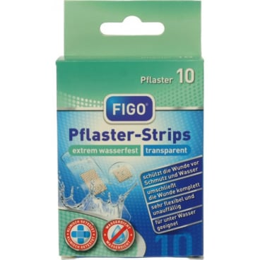 Figo Pflaster-Strips, Extrem wasserfest