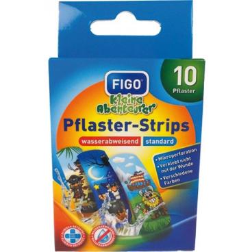 Figo Pflaster-Strips für Kinder - Wasserabweisend