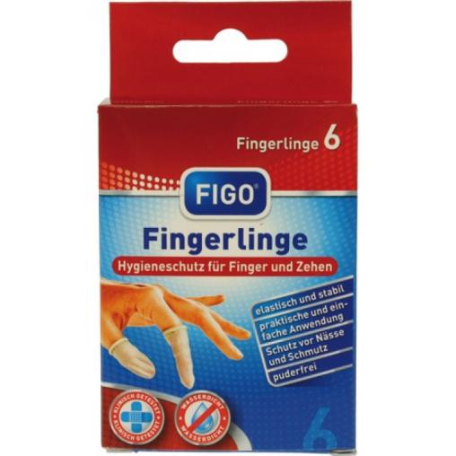 Figo Fingerlinge - Schutzkappe für Finger und Zehen