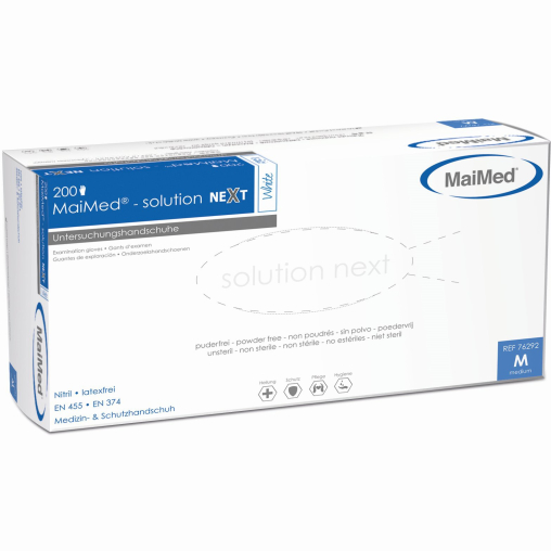 MaiMed® Solution next PF Nitril Einmalhandschuhe