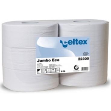 Steiner System Toilettenpapier, Zellulose, 2-lagig, Ø 26,5 weiß