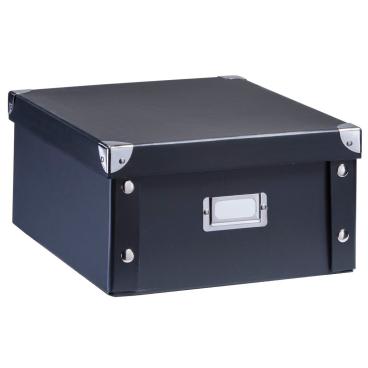 Zeller Aufbewahrungsbox Pappe, Maße: 31 x 26 x 14 cm