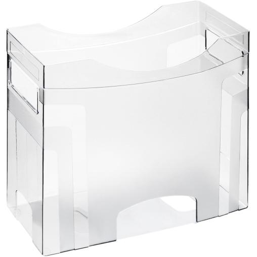 Rotho CUBE Hängemappenbox, transparent