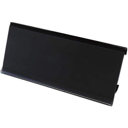 novocal Etikettenrahmen mit Papierschildern, schwarz