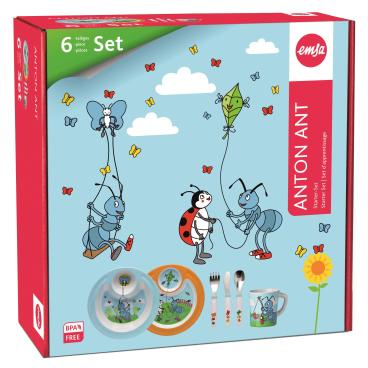 EMSA Anton Ant 6-teiliges Geschenk-Set