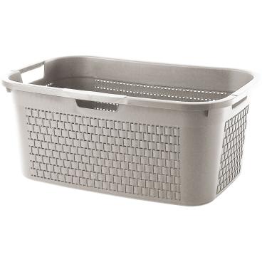 Rotho COUNTRY Wäschekorb, 40 Liter