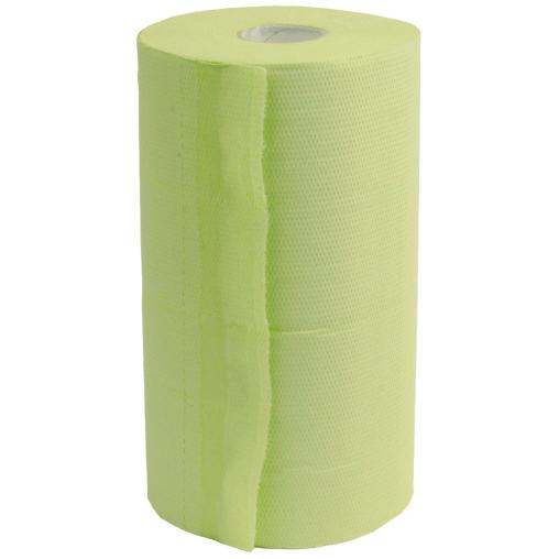 Rollenhandtuchpapier, 2-lagig, hellgrün, perforiert